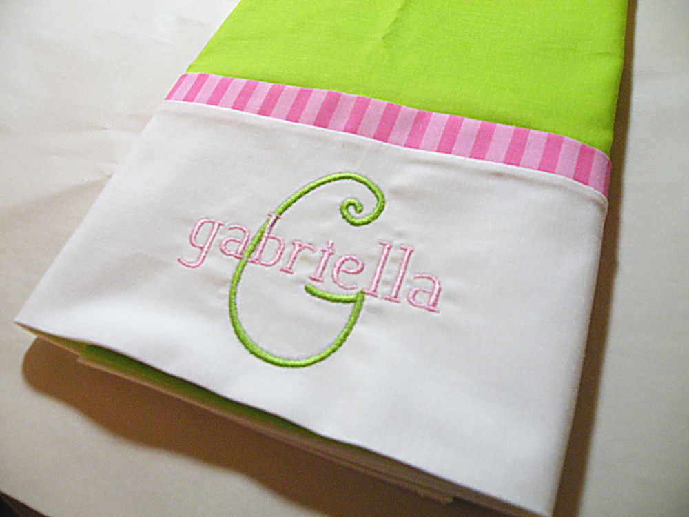 Image of: Personalized Pillow Cases Design