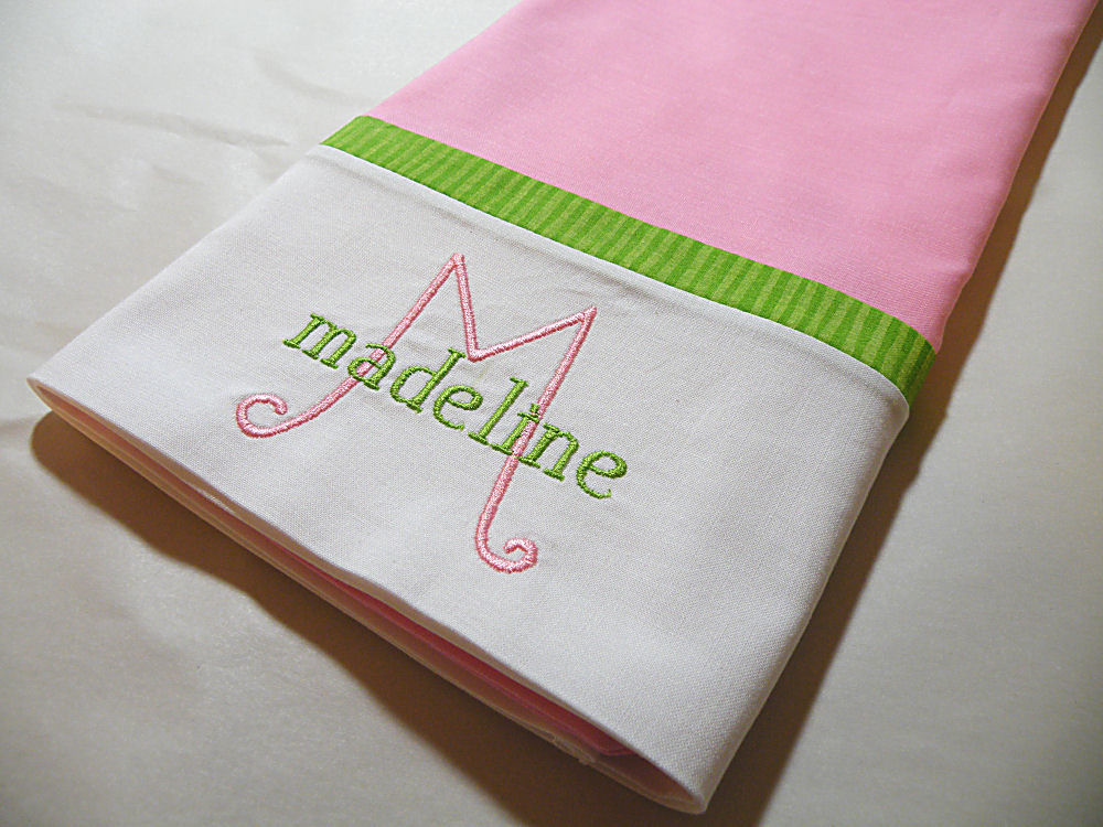 Image of: Personalized Pillow Cases Only