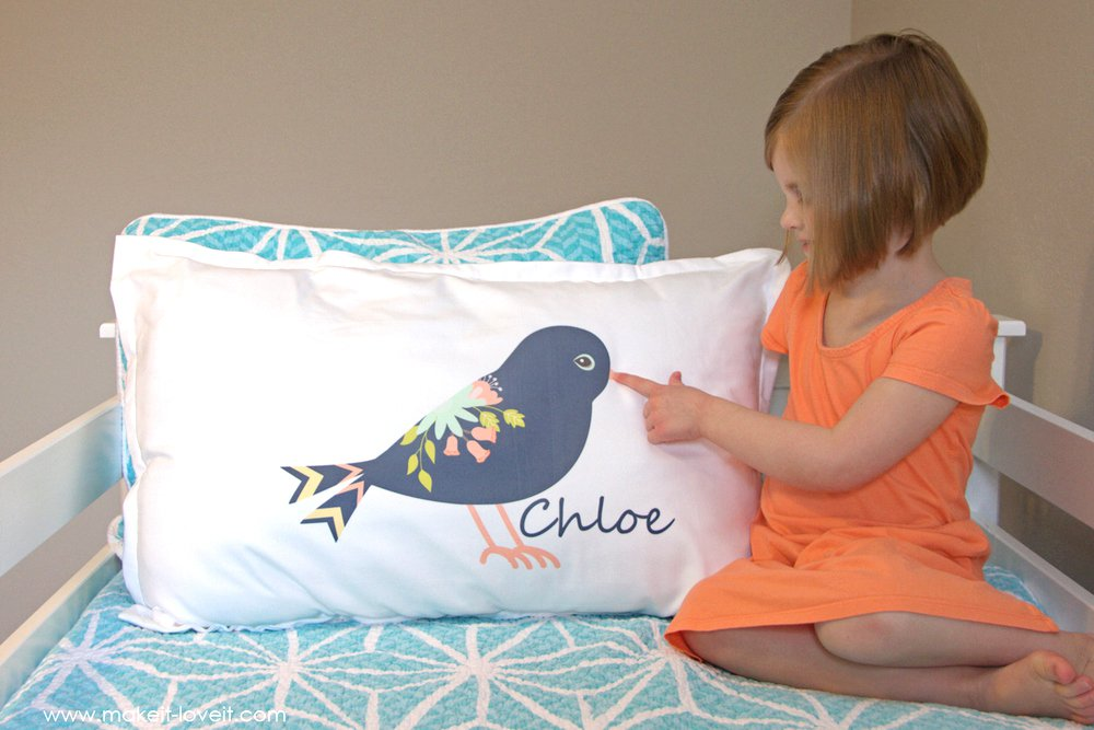 Image of: Personalized Pillow Cases and Covers