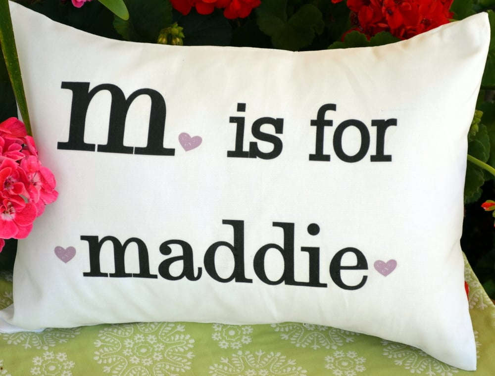 Image of: Personalized Pillow Photo