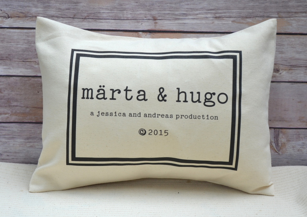 Image of: Personalized Pillow Picture