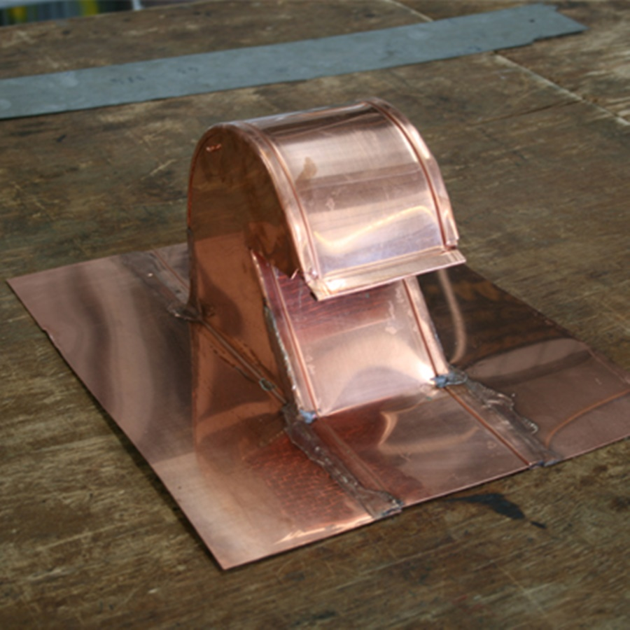 Image of: Picture Copper Roof Vents