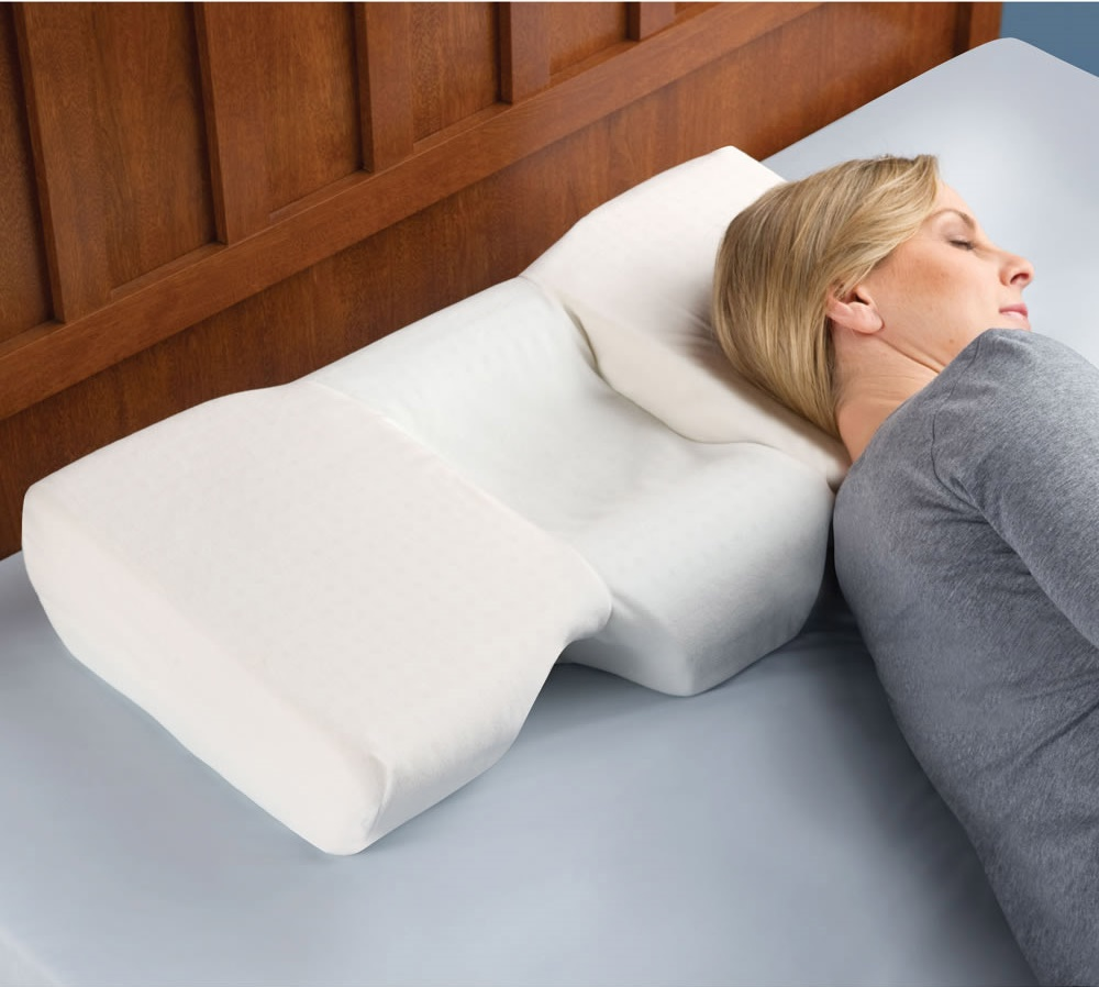 Image of: Picture Neck Support Pillow