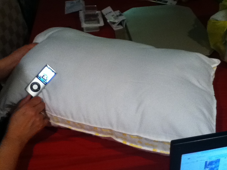 Image of: Pillow Speaker Style
