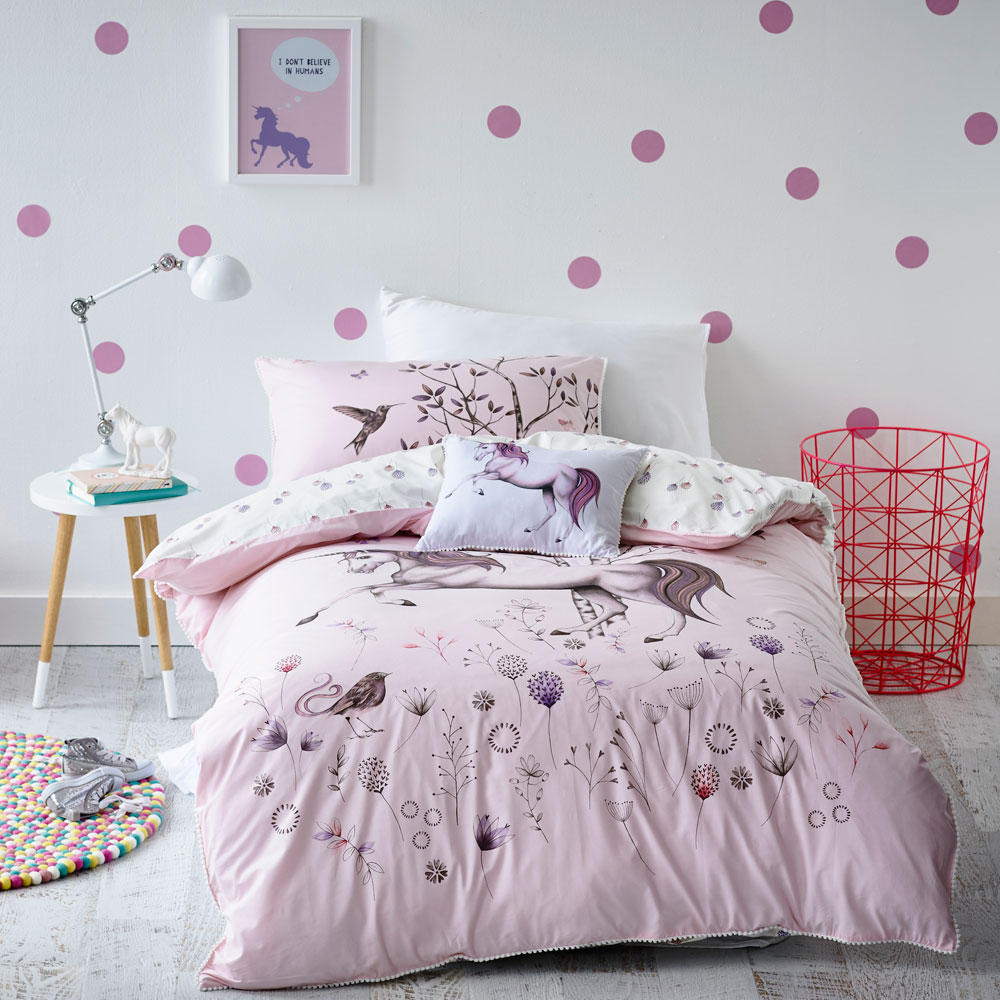 Image of: Pink Trellis Pillows