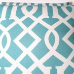 Pink and Turquoise Outdoor Pillows