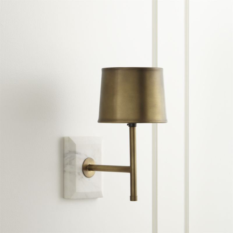 Image of: Plug in Corded Wall Sconce