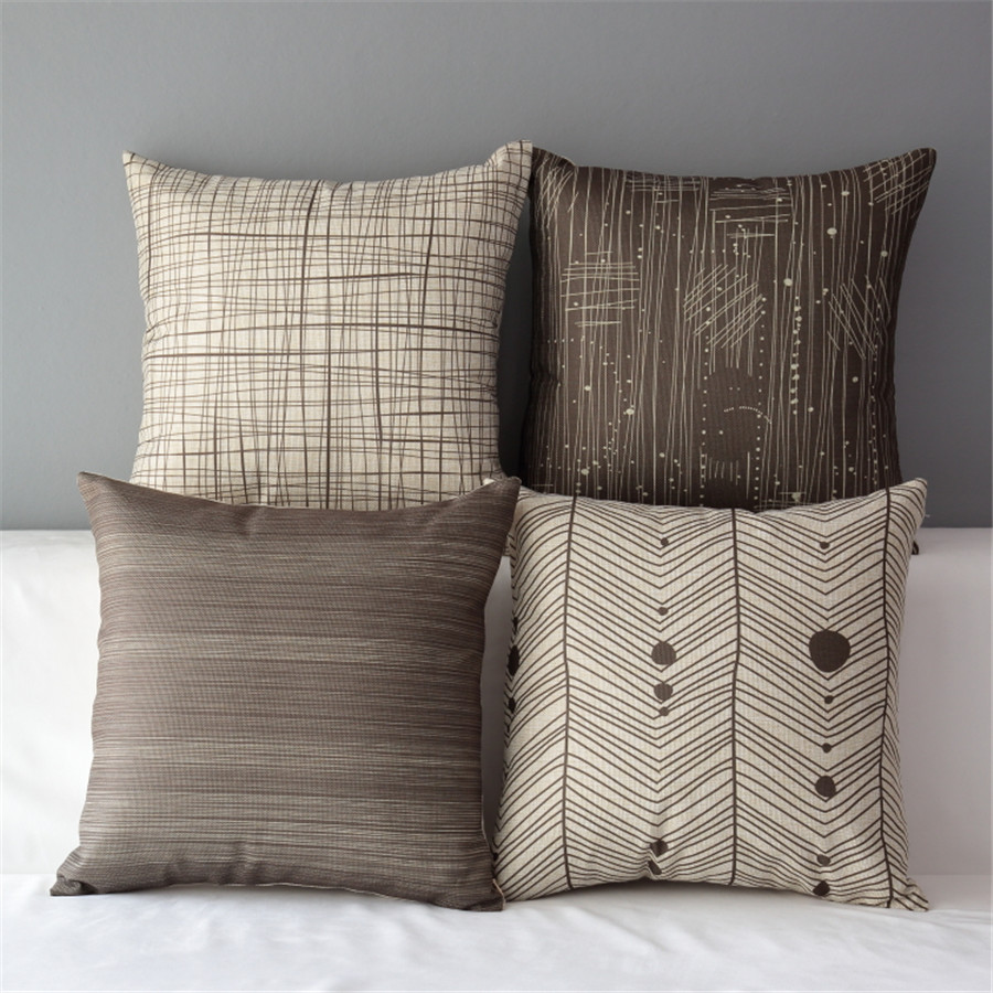 Image of: Popular Sofa Pillows