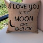Popular To The Moon And Back Pillow