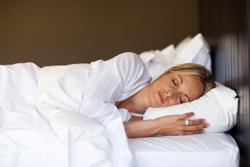Image of: Posturepedic Pillow Sleep