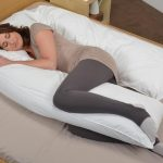 Pregnancy Body Pillow White