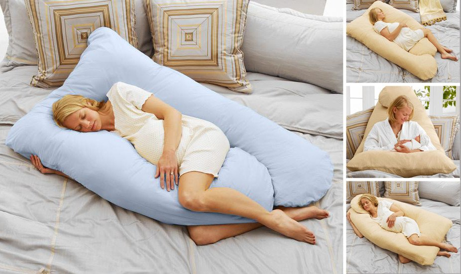 Image of: Premium Pregnancy Pillow