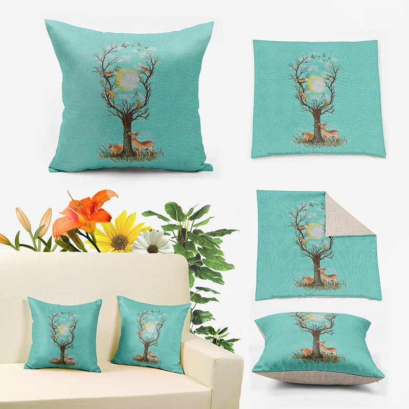 Pretty Mint Green Throw Pillows