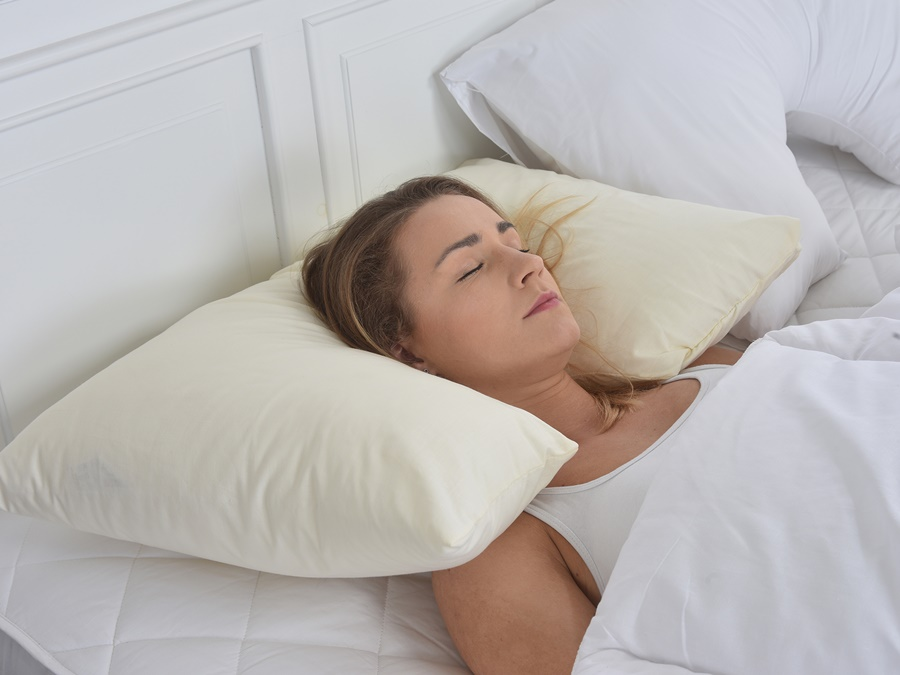 Image of: Pretty Neck Support Pillow