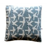 Pretzel Pillow Blue