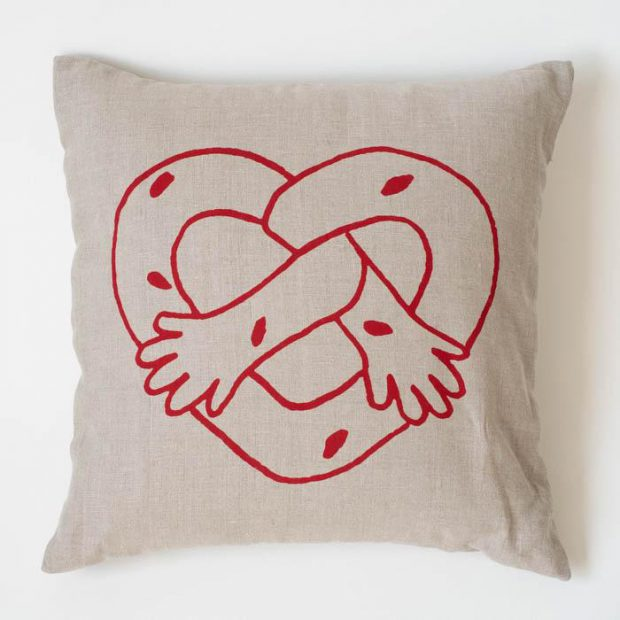 Image of: Pretzel Pillow Small