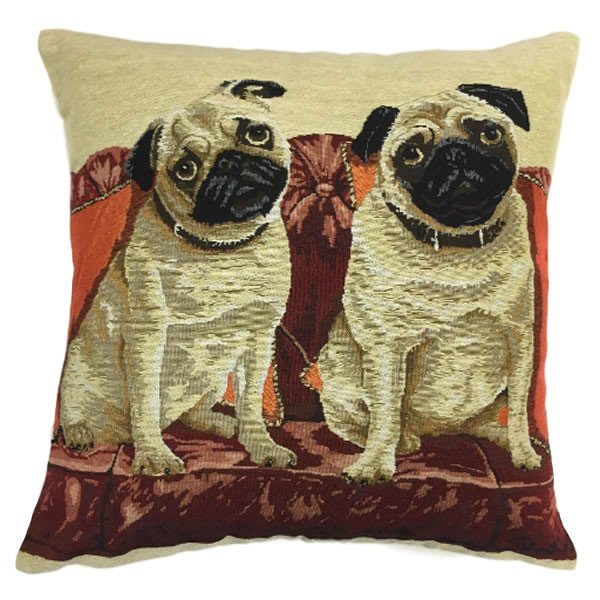 Image of: Pug Pillow Image