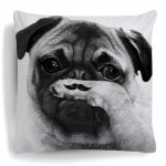 Pug Pillow Set