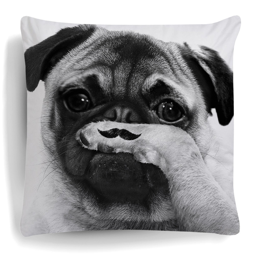Image of: Pug Pillow Set
