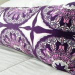 Purple Long Pillow