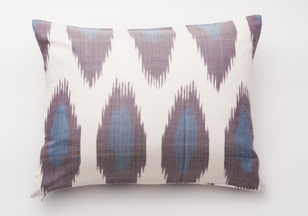 Image of: Purple Throw Pillows and Purple Throw Blanket