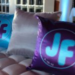 Purple and Turquoise Pillows