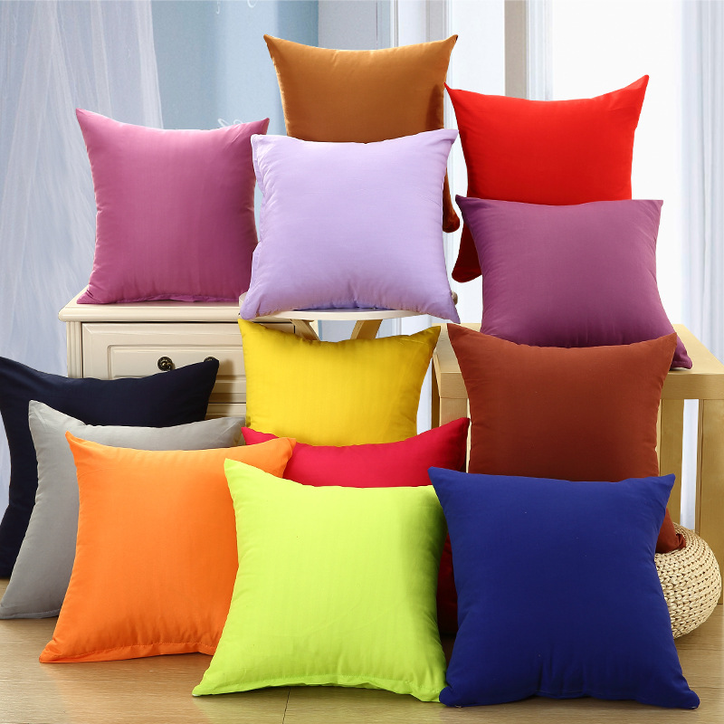 Image of: Red Throw Pillows