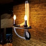 Retro Corded Wall Sconce