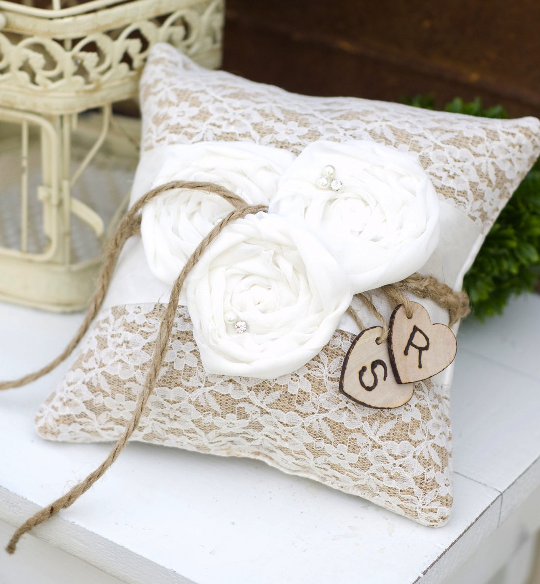 Image of: Ring Bearer Pillow Designs