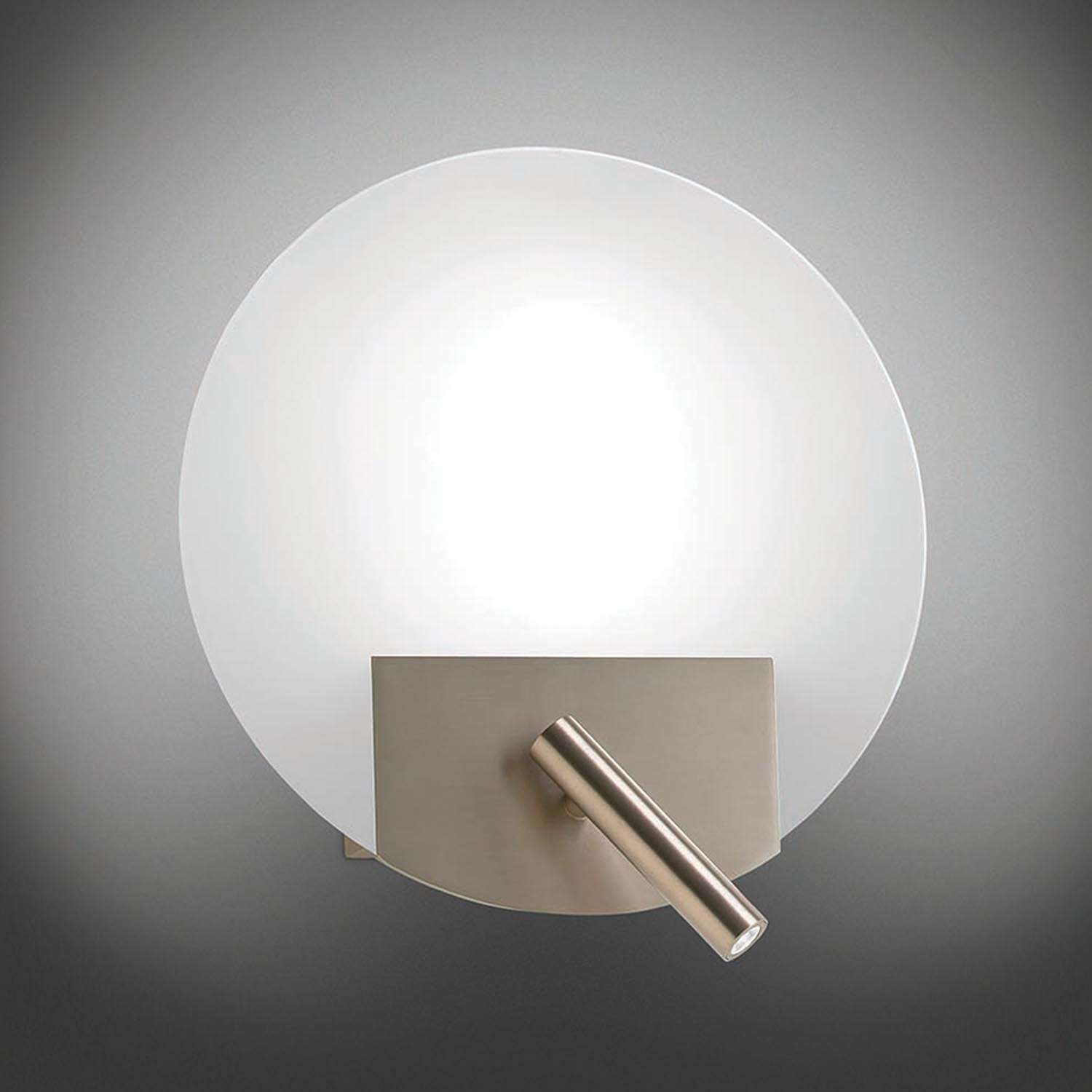Round Flat Wall Sconce