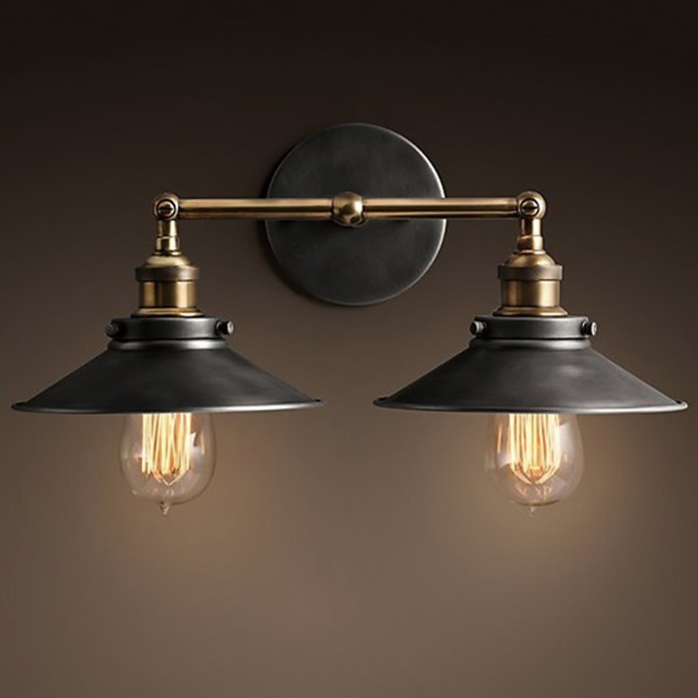 Rustic Double Wall Sconce Ideas