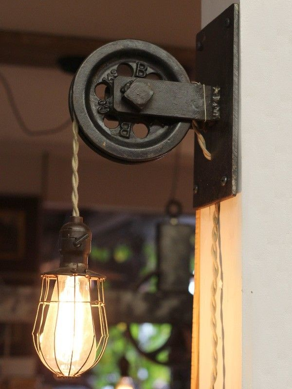 Image of: Rustic Farmhouse Wall Sconces