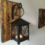 Rustic Iron Candle Sconce