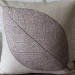 Rustic Leaf Throw Pillows