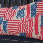 Rustic Pillow Covers Flag