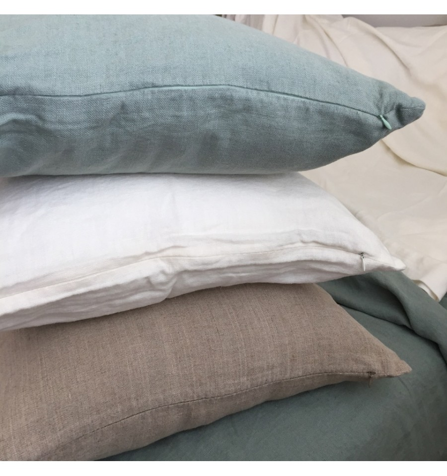 Image of: Rustic Pillow Covers Linen