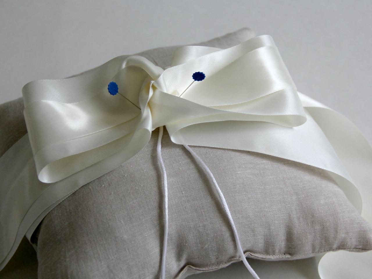 Satin Ring Bearer Pillow