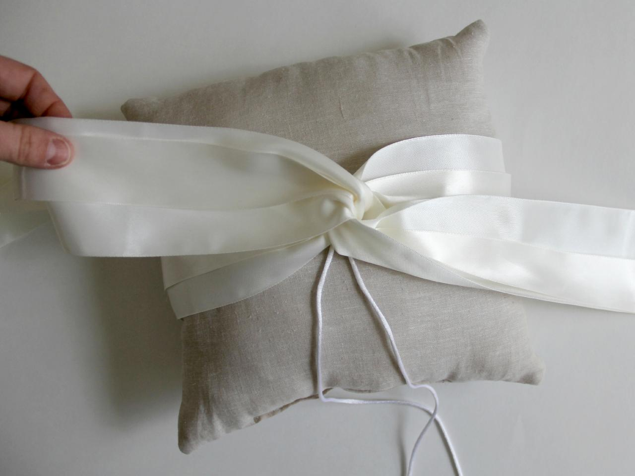 Image of: Sew Ring Bearer Pillow
