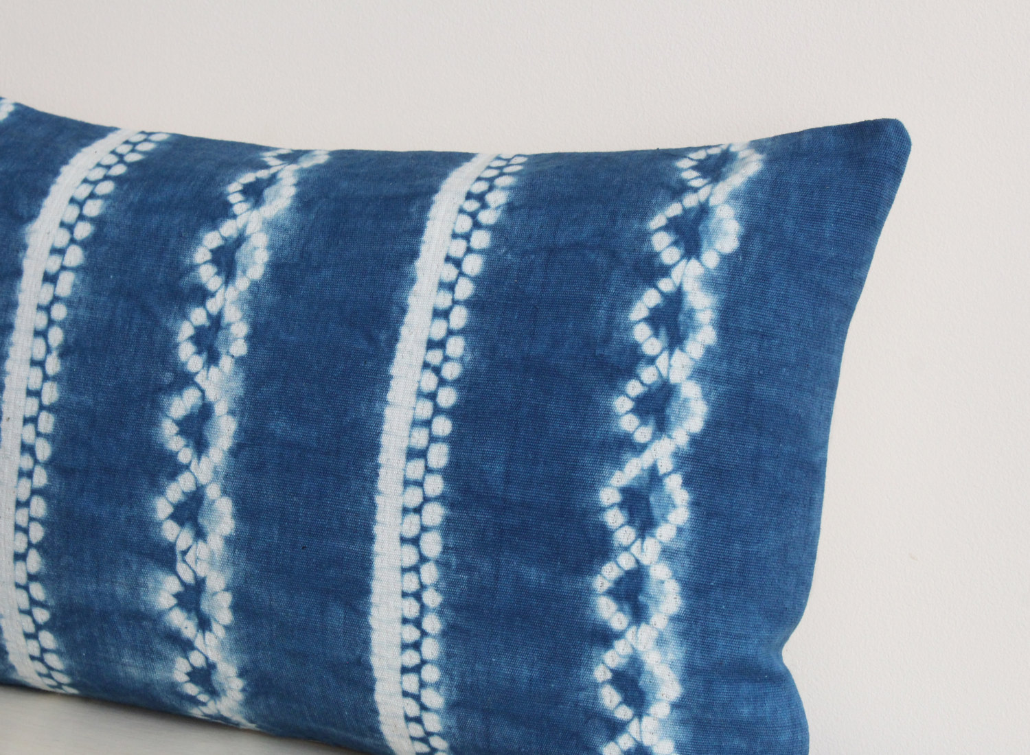 Image of: Shibori Pillow Cover