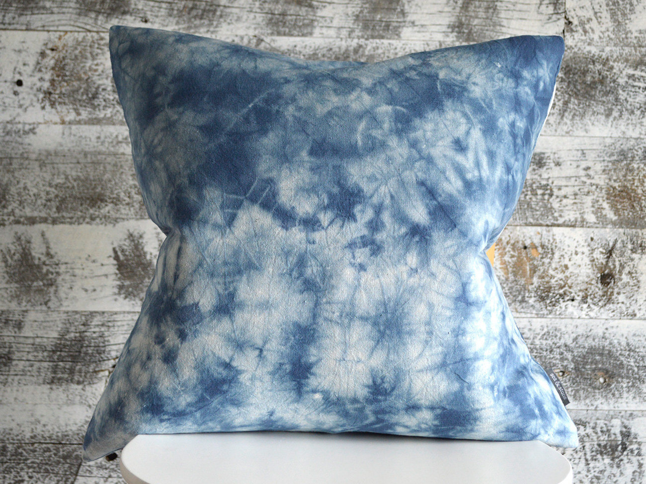 Image of: Shibori Pillow Fabric