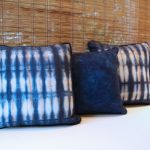 Shibori Pillows Color