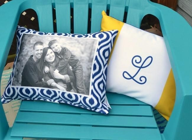 Image of: Shutterfly Pillow Making