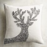 Silver Beaded Pillow Theme