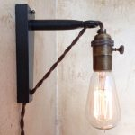 Simple Corded Wall Sconce