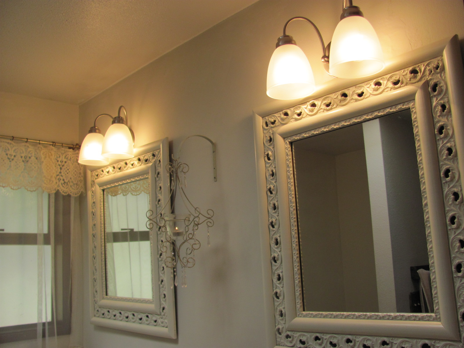Image of: Simple Hampton Bay Wall Sconce