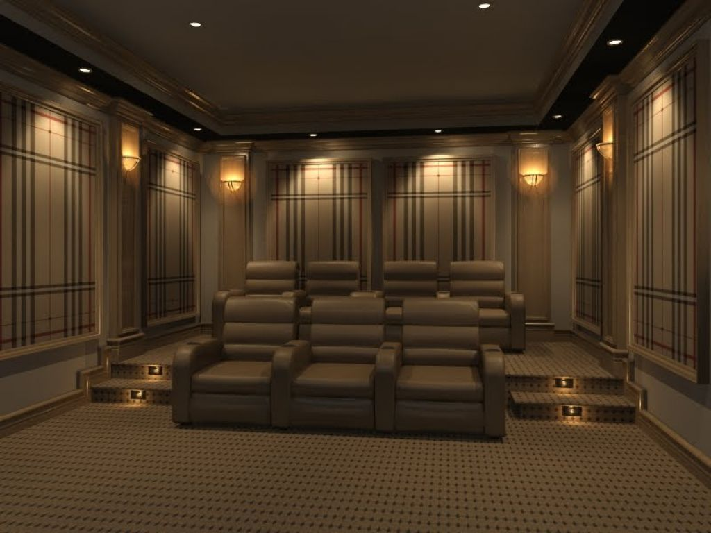 Image of: Simple Home Theater Wall Sconces