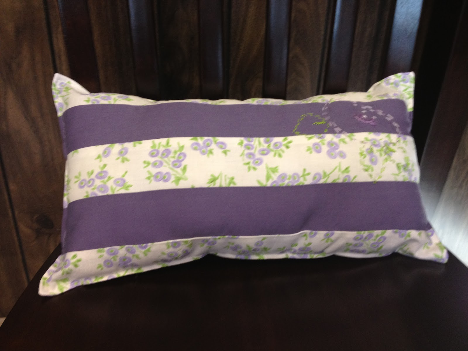 Image of: Simple Purple Lumbar Pillow
