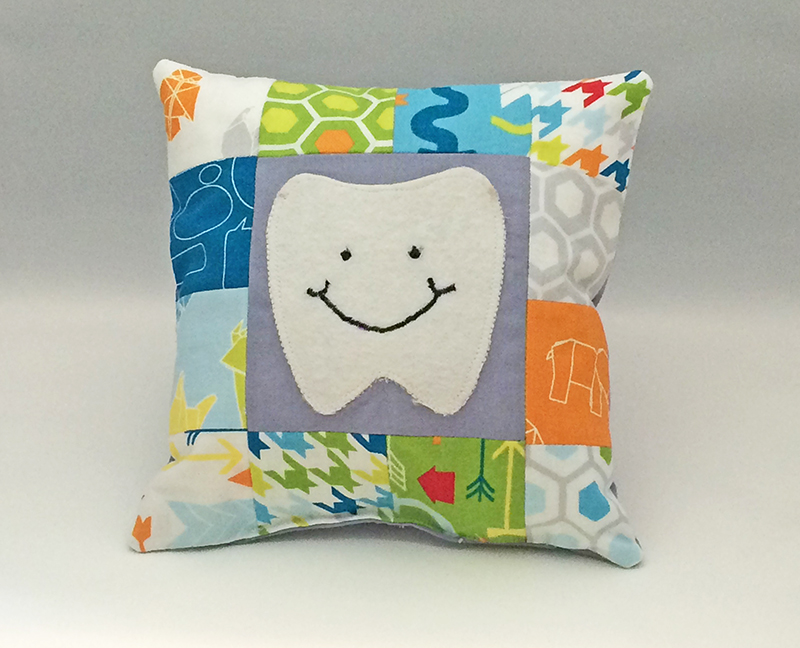 Image of: Simple Tooth Fairy Pillow