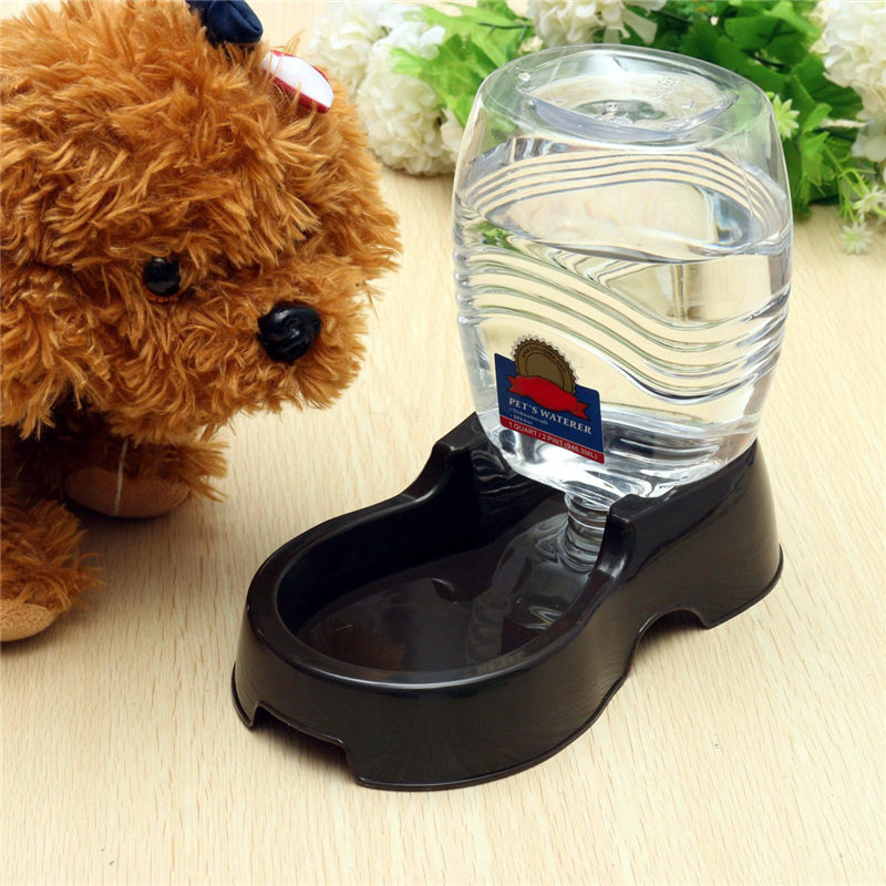 Image of: Small Dog Water Bowl Fountain