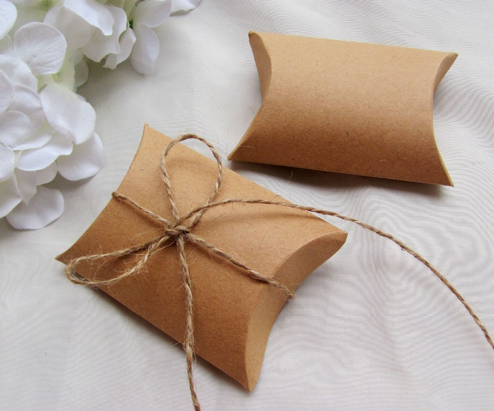 Image of: Small Pillow Boxes
